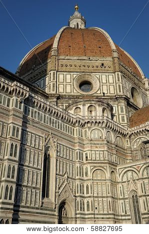 ITALY - MARCH 2:  Florence Cathedral (Basilica di Santa Maria del Fiore) in Florence, Italy.