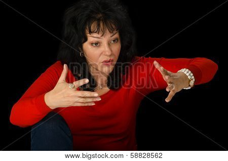 Mature Woman Tells Very Emotional