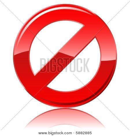 Restrictive sign