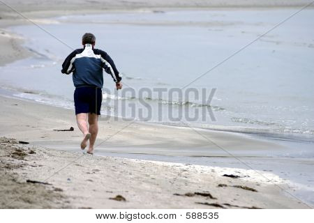 Excercise By The Beach