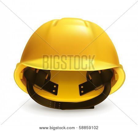 Hard hat icon, bitmap copy