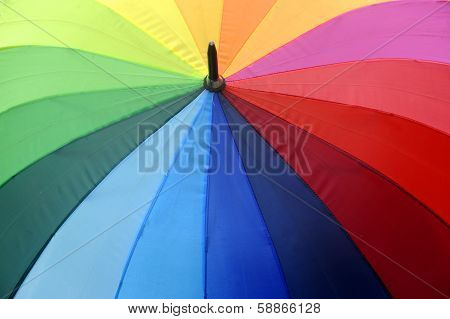 Colorfull umbrella