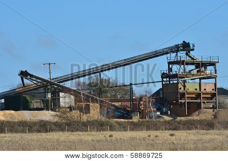 Gravel Extraction Works
