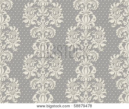Ornate damask background