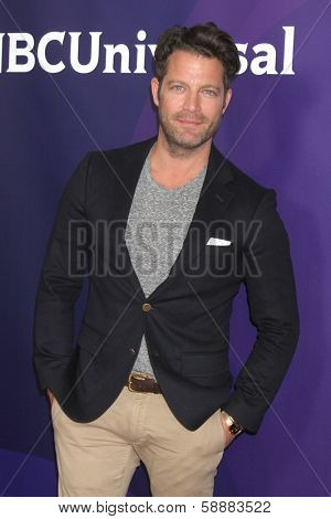 LOS ANGELES - JAN 19:  Nate Berkus at the NBC TCA Winter 2014 Press Tour at Langham Huntington Hotel on January 19, 2014 in Pasadena, CA