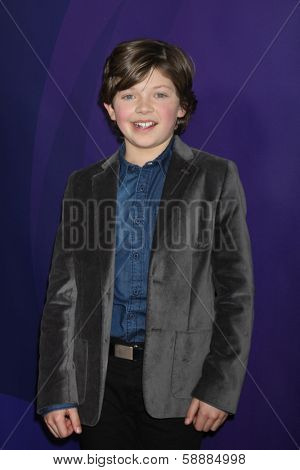 LOS ANGELES - JAN 19:  Eli Baker at the NBC TCA Winter 2014 Press Tour at Langham Huntington Hotel on January 19, 2014 in Pasadena, CA