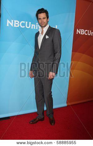 LOS ANGELES - JAN 19:  David Walton at the NBC TCA Winter 2014 Press Tour at Langham Huntington Hotel on January 19, 2014 in Pasadena, CA