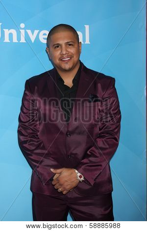 LOS ANGELES - JAN 19:  Fernando Vargas at the NBC TCA Winter 2014 Press Tour at Langham Huntington Hotel on January 19, 2014 in Pasadena, CA