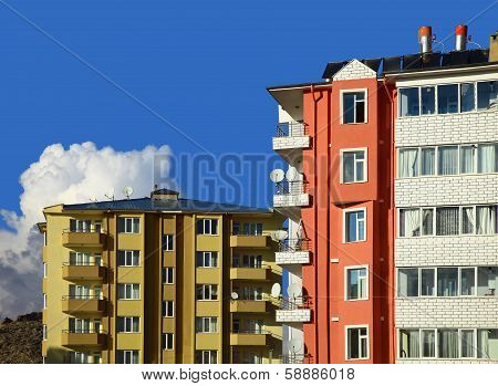 Two Apartment Buildings