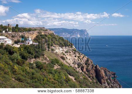 George Monastery In Fiolent Foreland Crimea, Ukraine