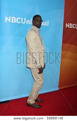 LOS ANGELES - JAN 19:  Lance Gross at the NBC TCA Winter 2014 Press Tour at Langham Huntington Hotel on January 19, 2014 in Pasadena, CA