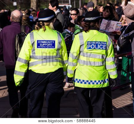 Police Officers on the Streets of London