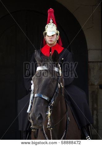 Horseguards Soldier on horseback