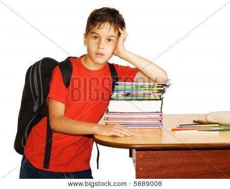 Bored Schoolboy