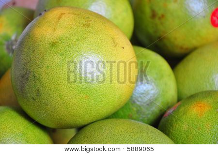 green pomelo