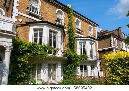Town Houses. London, England