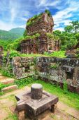 picture of champa  - Hindu temples My Son near Hoi An - JPG