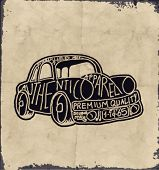 pic of carburetor  - sketch car with wording - JPG