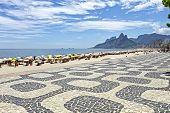stock photo of ipanema  - Ipanema Beach - JPG