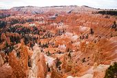 image of thors hammer  - Bryce Canyon National Park in winter Utah - JPG