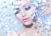 pic of snow queen  - Winter Beauty Woman - JPG