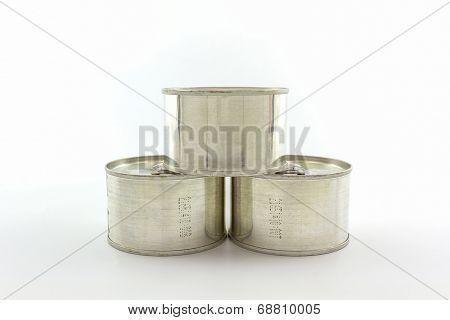 Aluminum Tin Can.