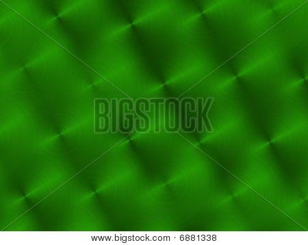 Circular Brushed Green Metallic Background