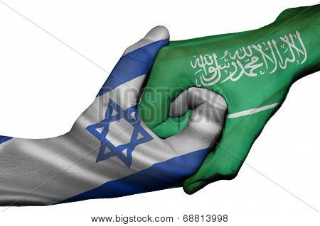 Handshake Between Israel And Saudi Arabia