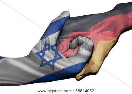 Handshake Between Israel And Germany