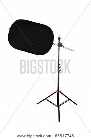 Tripod With Studio Light Reflector