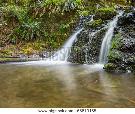 Rustic Falls, Moran State Park, WA