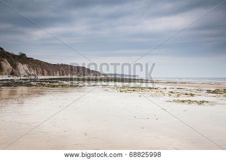 Beach In Bridlington, Uk.