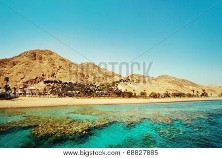 Eilat Landscape. Israel.