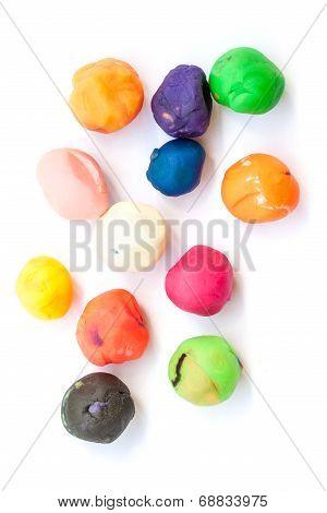 Set Of Colorful Plasticine For Kid