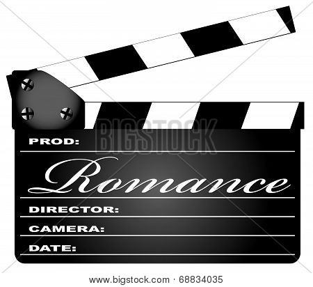 Romance Clapperboard