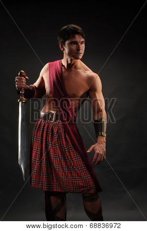 handsome highlander