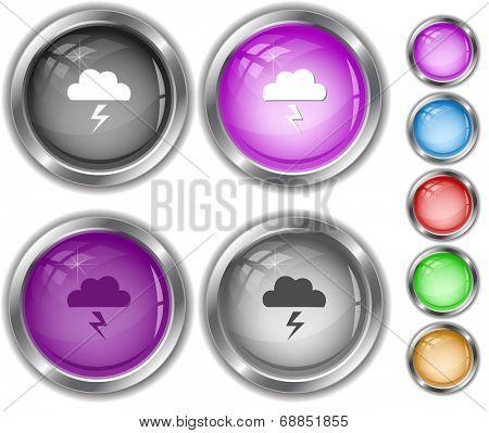 Storm. Internet buttons.