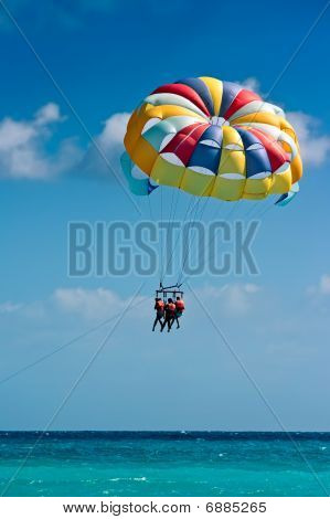Parasailing on Beach