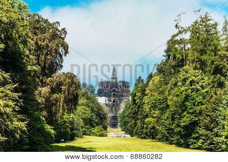 The Hercules-the Kassel landmark, North Hesse, Germany