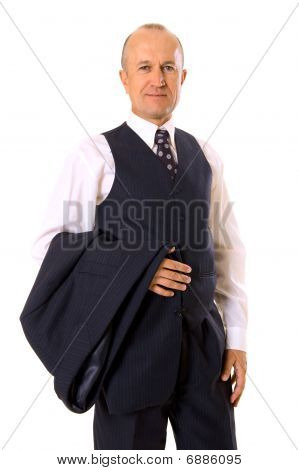 Businessman with a smile