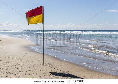 Gold Coast beach flag