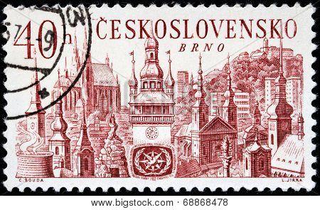 Brno Stamp