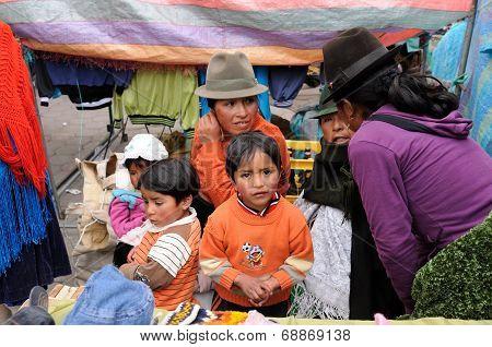 Ecuador, Ethnic Market