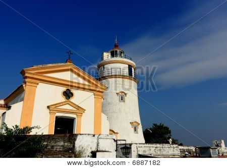 lighthouse in macau