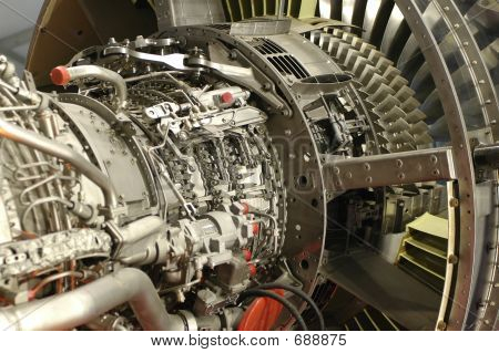 Aircraft Engine Detail