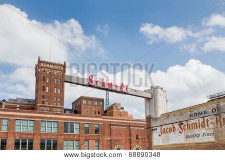 Restored Schmidt Brewery