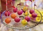 image of cake pop  - Colorful cake - JPG