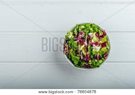 Vegetable Salad With Endive