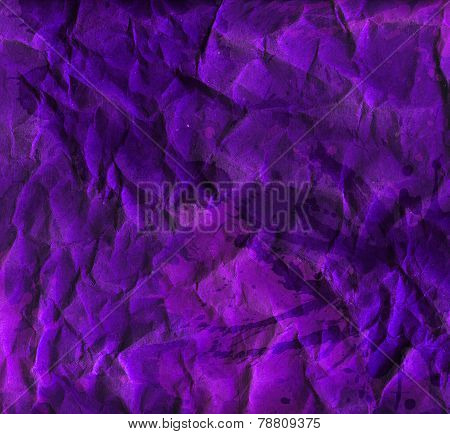 Creased violet wrapping paper texture