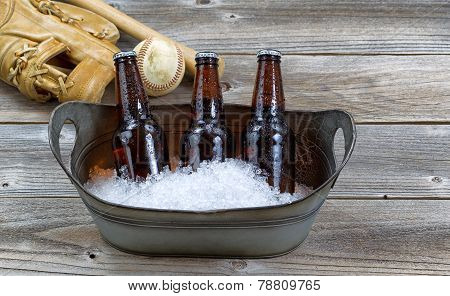 Beer On Ice For Baseball